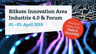 Vortrag Hannover Messe 2019 – Bitkom